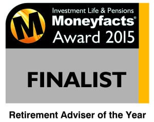 Wingate short-listed for the Retirement Adviser of the Year at the Investment Life & Pensions Moneyfacts Awards 2015